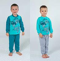 Пижама детская утепленная для мальчика (р.92-122)
