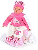 Детская кукла, пупс + звуковые эффекты М1525