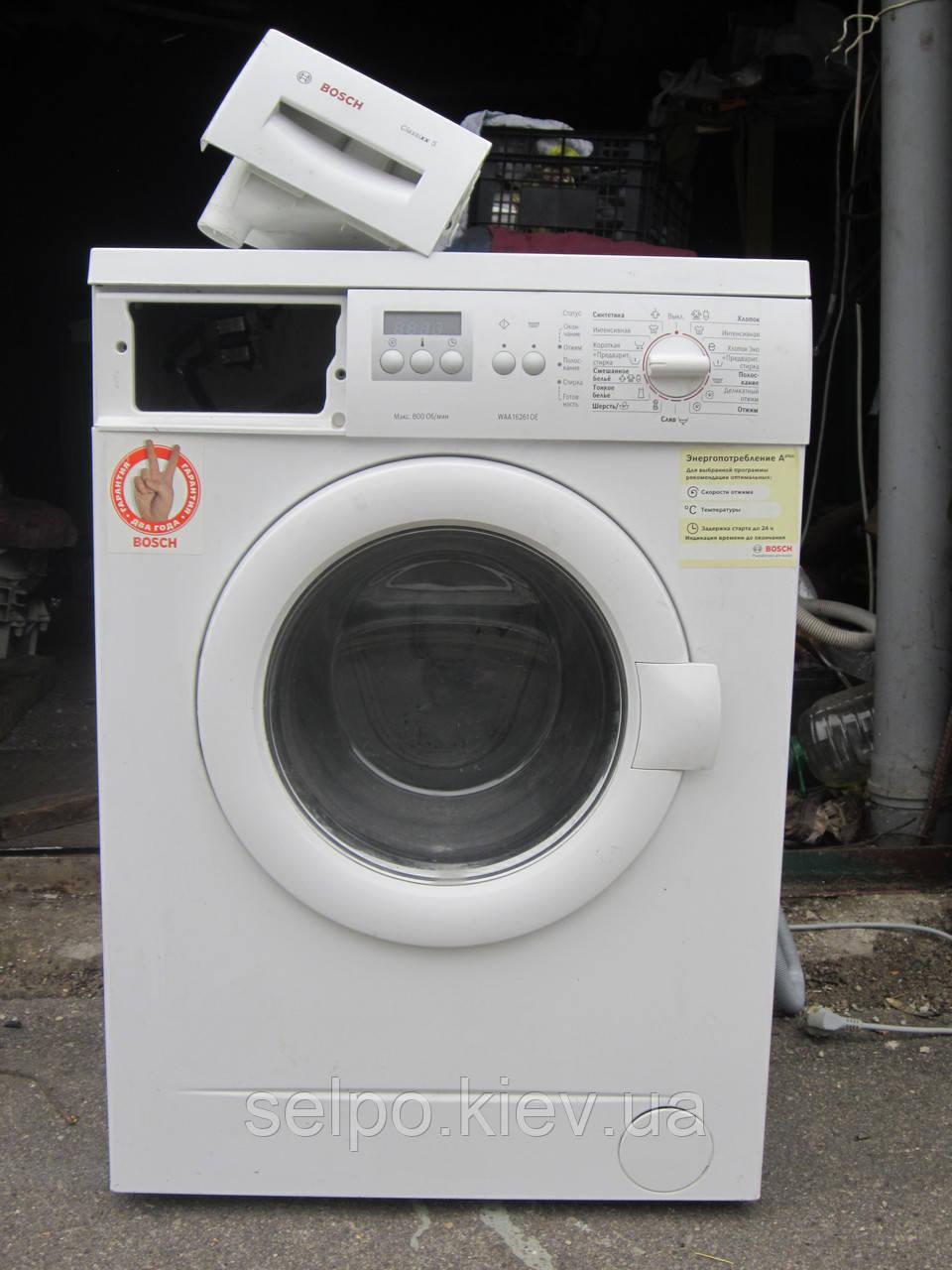 панель управления стиральной машины бош классик 5 инструкция