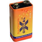 Батарейка X-digital 6F22  (Крона), 9 вольт.
