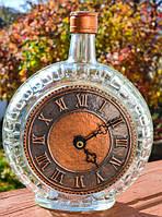 Оригинальные часы! Бутылка! Медь! GERMANY!