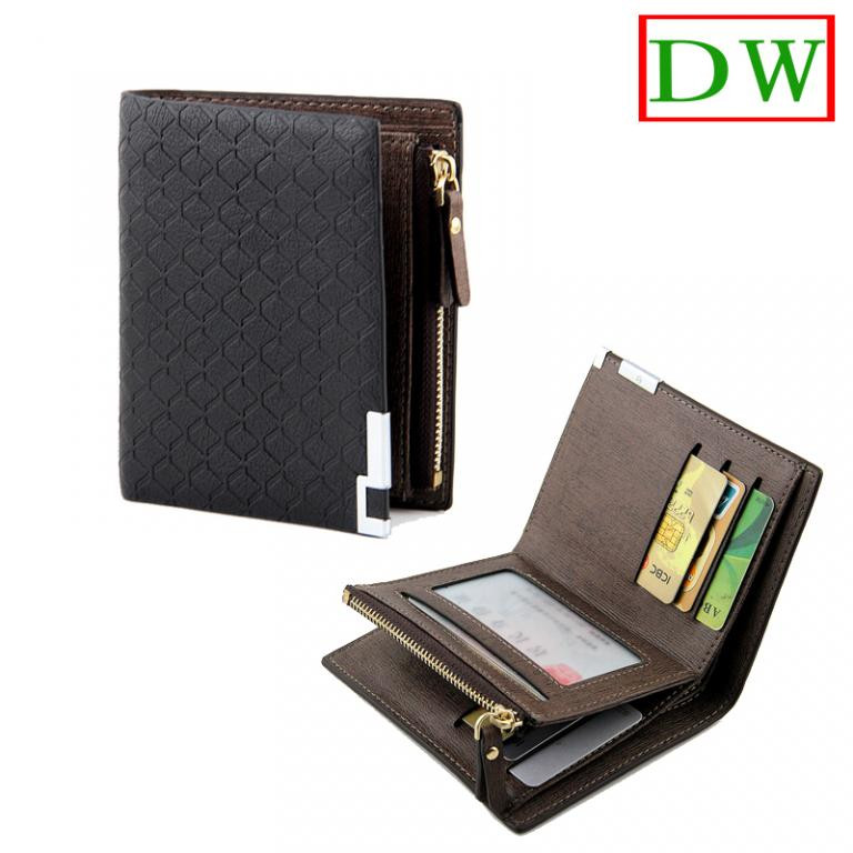 Кошелек мужской бумажник BORENYAS черный