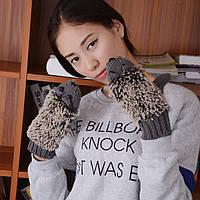 Перчатки варежки рукавицы женские ЕЖИК