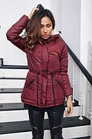 Женская приталенная куртка