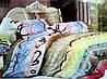 Постельное белье Сатин мягкий двуспальный комплект