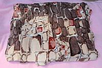 Махровая двуспальная простынь-покрывало Cloris