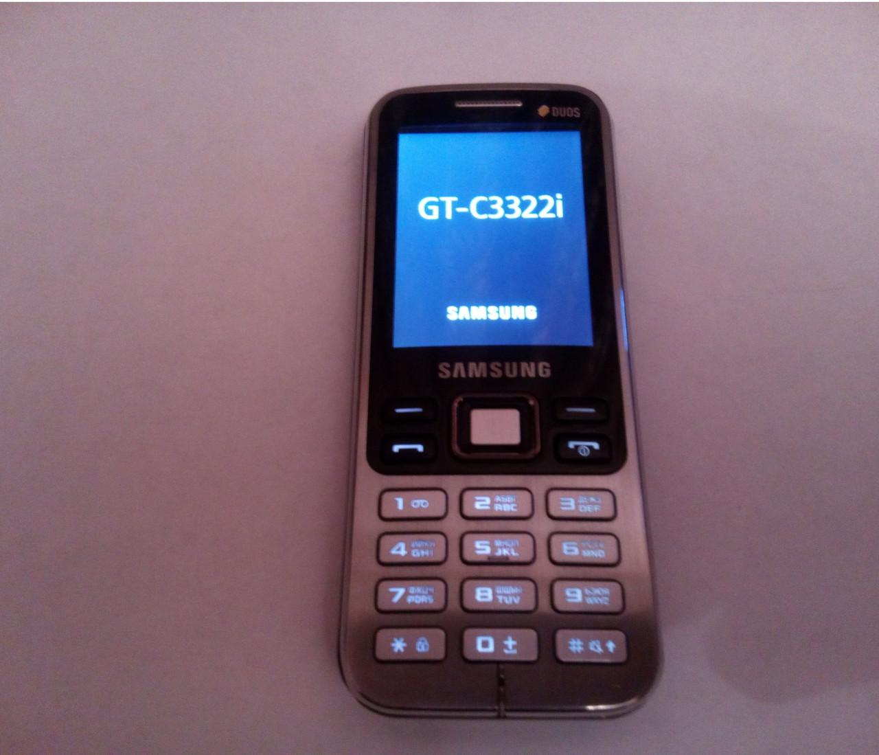Samsung C3322i Duos отличное состояние