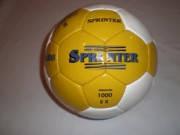 Мяч футбол SPRINTER полимер желто-белый