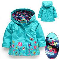 Курточки-плащики для девочек