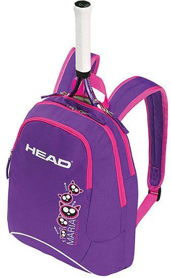 Фиолетовый детский теннисный рюкзак  на 5 л 283375 Kids Backpack  PUPK HEAD