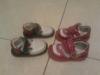Кожаная обувь фирменная для девочки
