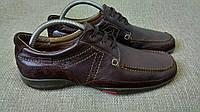 Итальянские кожаные туфли-мокасины Tolino.