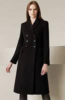 Стильное  пальто средней длины