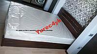 Деревянная кровать с подъёмным механизмом+матрас 160*200