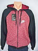 Спортивная мужская толстовка на флисе с капюшоном Nike