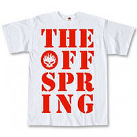 Футболка The Offspring Letters White