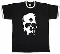 Футболка мужская Rammstein - Skull Рингер Black