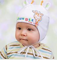 Головной убор для малышей Шапочка Белая Осень 42-44 см 3-002236 Tutu Польша