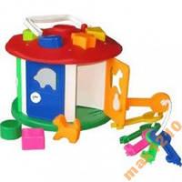 Куб сортер Розумний малюк Домик с ключами
