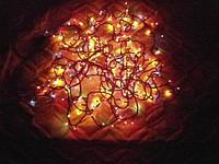 Гирлянда новогодняя на 300 лампочек мульти цвет