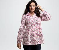 Комфортная блуза-рубашка от TCHIBO р.46 EUR.Наш54