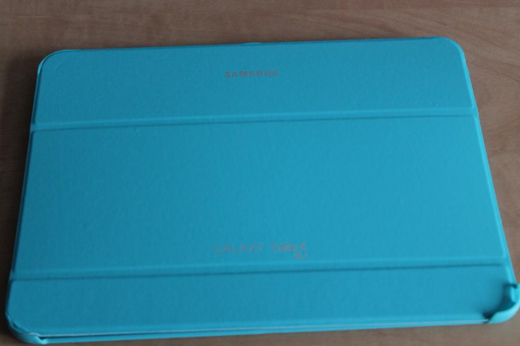 Чехол для планшета SAMSUNG galaxy tab 4 10.1 голуб