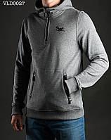 Толстовка-анорак мужская с капюшоном Staff gray Art. VLD0027