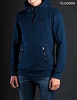 Толстовка-анорак мужская осенняя Staff dark blue Art. VLD0029