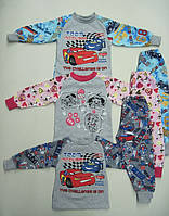 Пижама детская, подростковая, 100 % хлопок с начесом. р.р.26-42