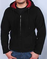 Флисовая толстовка для мужчин с капюшоном. Размер L.