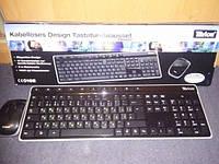 Беспроводная клавиатура и мышь Tevion