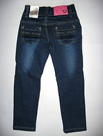 Утепленные джинсы для девочки р.98-152 (арт.5520)