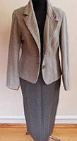Пиджак костюм шерсть +кашемир