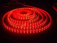 Лента светодиодная 5м красная 3528 60д/м IP65