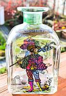 Шикарная коллекционная бутылка,графин,штоф! Италия