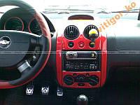 Накладки на торпедо Chevrolet AVEO 04' - ...