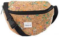 Необычная сумка на пояс 2 л. Harvard Spiral 4017 коричневый