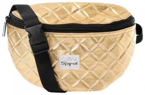 Стильная сумка на пояс 2 л. Harvard Spiral 4028 золотистый