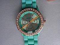 Часы женские Geneva Luxury Crystal стразы уценка