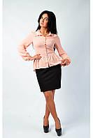 Женская блуза с баской