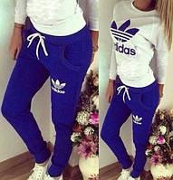Спортивный костюм женский Adidas Factura синий , купить спортивный костюм