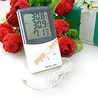 Домашняя метеостанция термометр гигрометр выносной датчик