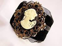 Шикарный винтажный браслет Камея!