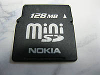 Карта Памяти Мобильного Телефона Mini SD 128MB