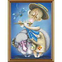 Набор для вышивания крестом Нова Слобода СР-5200 Пастушок