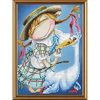 Набор для вышивания крестом Нова Слобода СР-5201 Пастушка