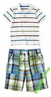 Комплект тенниска-поло+шорты Crazy8(США) на 2 года