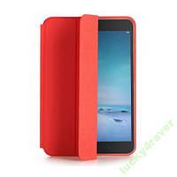 Оригинальный чехол книжка Xiaomi Mi Pad 2 красный