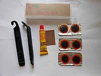 Ремонтный набор Green Cycle YC-129A для камер ( латки, клей, наждак, бортировки)