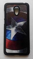 Пластиковый чехол для Meizu M2 Mini с рисунком Капитан Америка